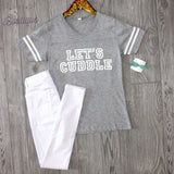 Let's Cuddle Tee - Biology Boutique