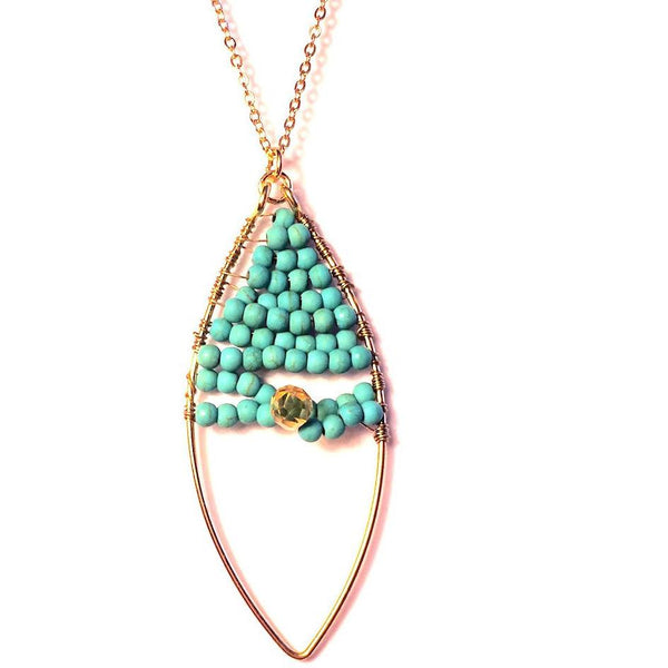 Margo Turquoise Necklace - Biology Boutique