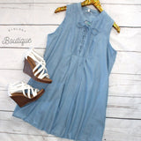 Out Of The Blue Dress - Biology Boutique