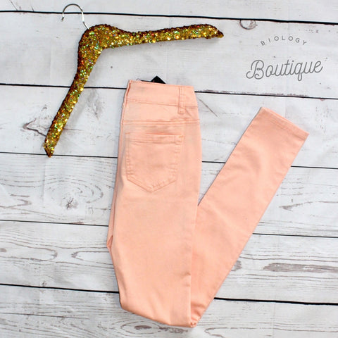 Blush Skinnies - Biology Boutique