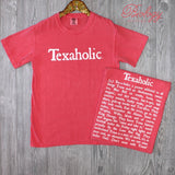 Texaholic Tee in Crunchberry - Biology Boutique