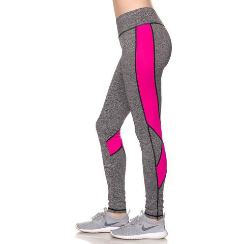 Power Up Fuchsia Leggings