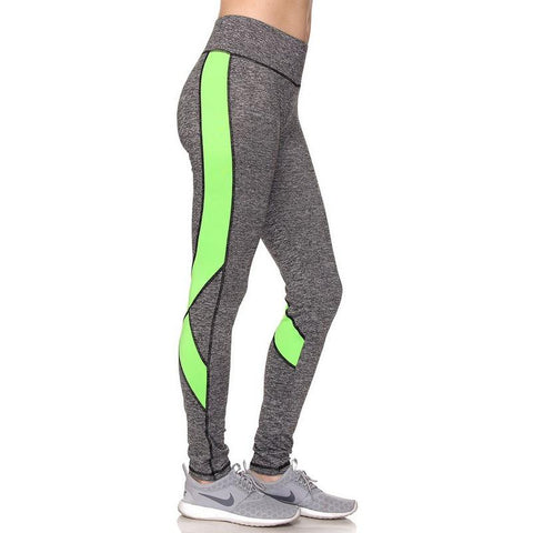 Power Up Green Leggings - Biology Boutique