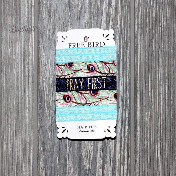 Praying First Hair Ties - Biology Boutique