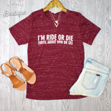 Ride or Die Tee - Biology Boutique