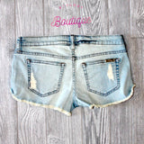 Wild Way Light Distressed Cutoff Shorts - Biology Boutique