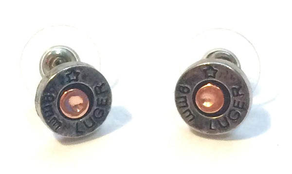 Shotgun Stud Earrings