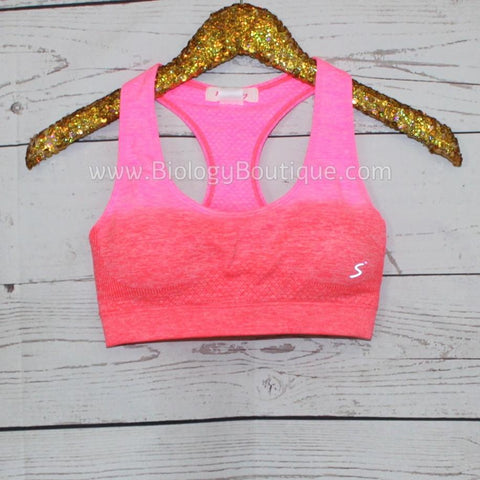 Ombre Sports Bra - Biology Boutique