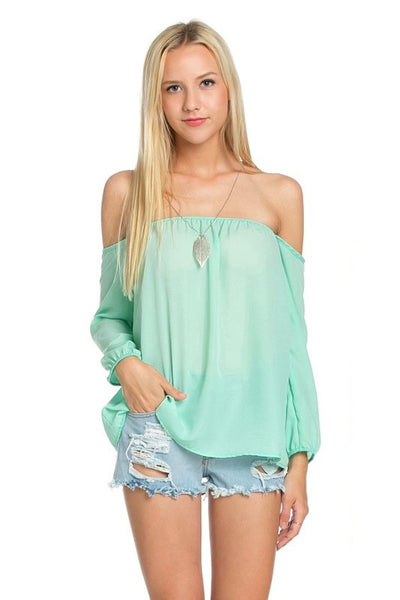 Summer Lovin' Off the Shoulder Top - Biology Boutique