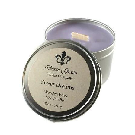 Sweet Dreams 8 oz Candle - Biology Boutique