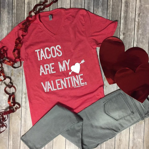 Tacos are my Valentine Tee | Biology Boutique