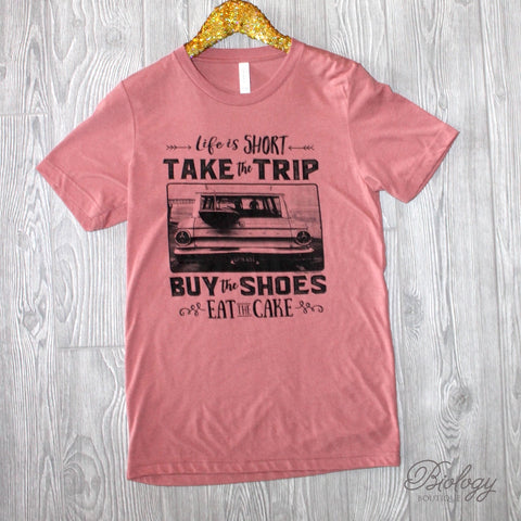 Take the Trip Tee - Biology Boutique