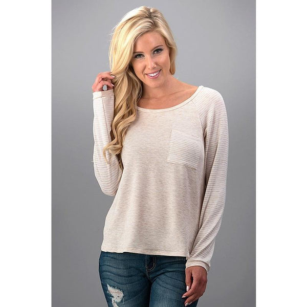 Long Sleeve Pocket Tee - Biology Boutique