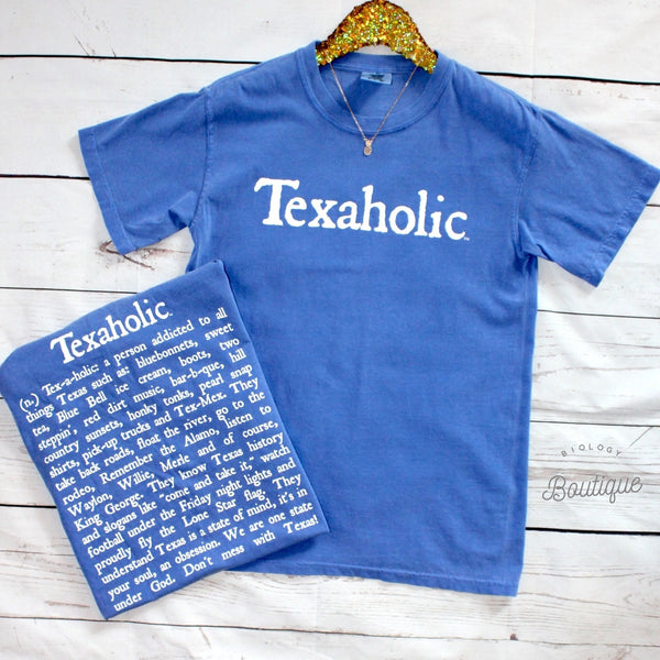 Texaholic Tee - Biology Boutique