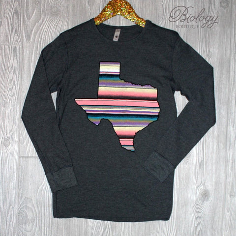 Texas Serape T-Shirt - Biology Boutique