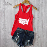 One Nation Under God Tank Top - Biology Boutique