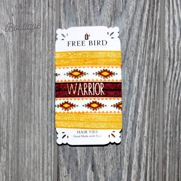 Warrior Hair Ties - Biology Boutique
