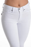Kan Can White Skinny Jeans - Biology Boutique