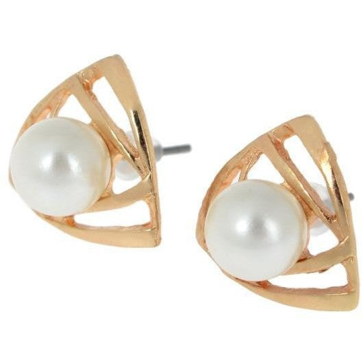 Andrea Pearl Studs - Biology Boutique