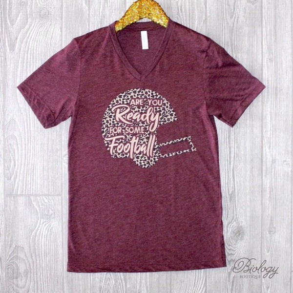 Are You Ready Football Tee - Biology Boutique