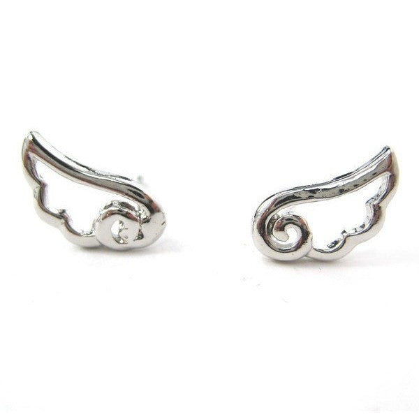 Angel Wings Studs - Biology Boutique