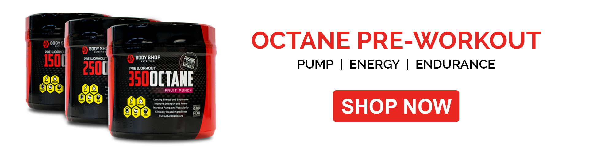 Octane Pre-Workout | Shop Now