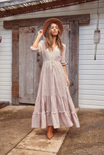 Paolo Maxi Dress Blush Loren