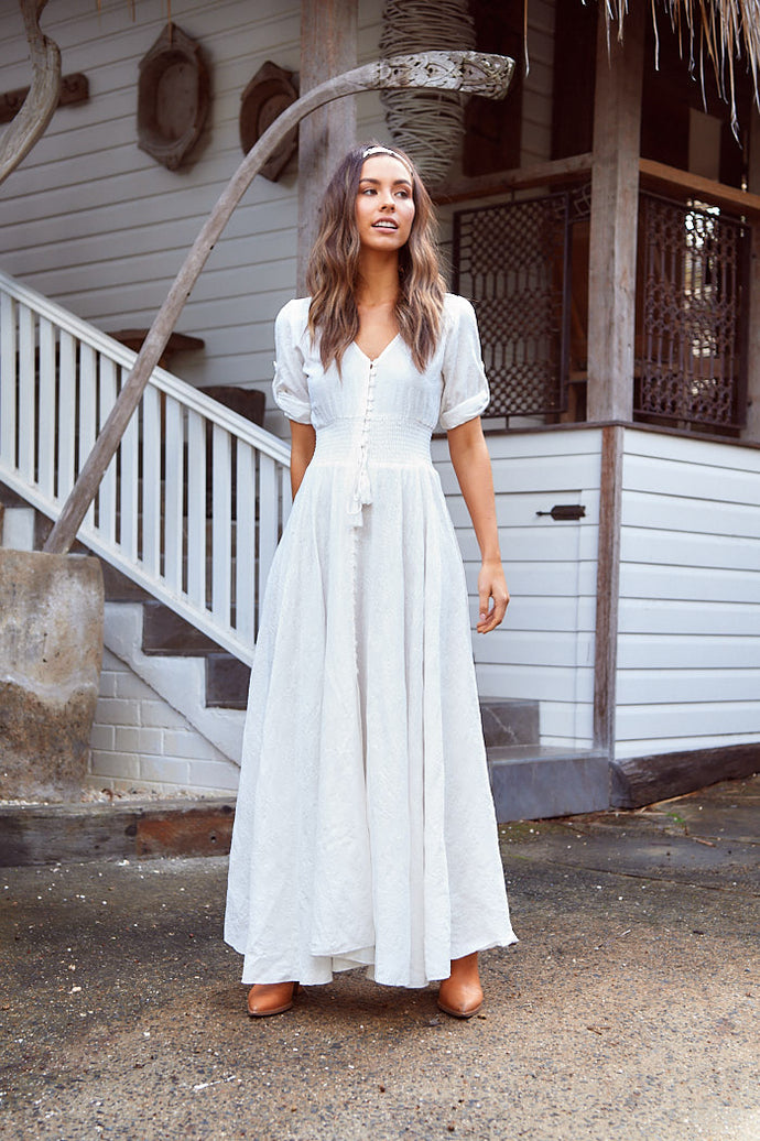 JAASE Indiana Maxi Dress White