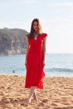 Lindsay Maxi Dress Red