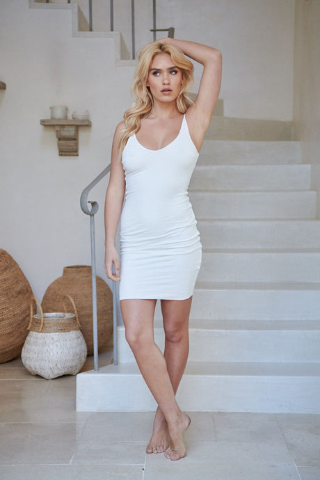 Phoenix Mini Dress White