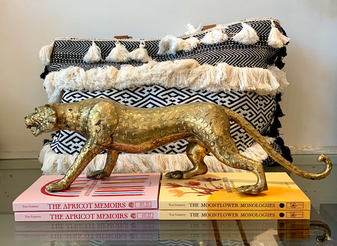 Cheetah ~ Antique Brass