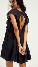 Free People Hailey Mini Dress Black