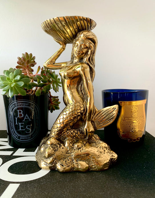 Venus Mermaid ~ Brass