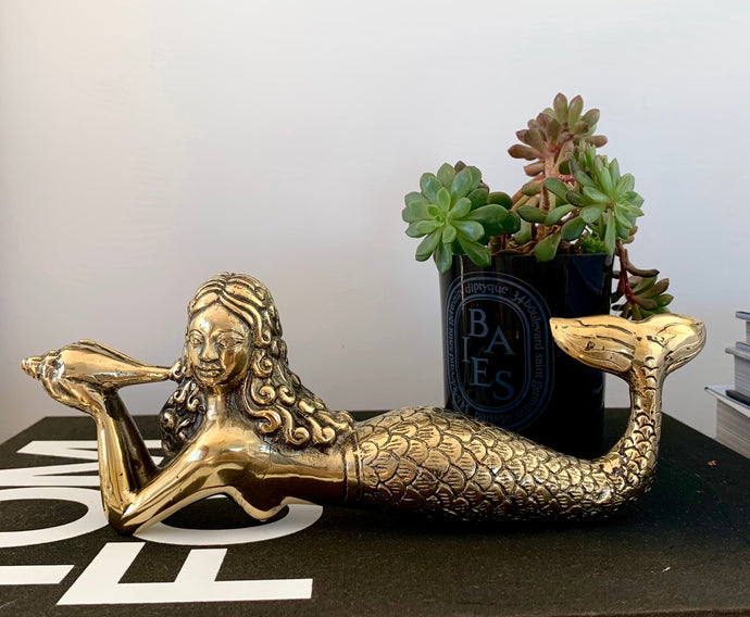 Lying Mermaid ~ Gold