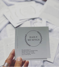 Daily Musings Card Deck