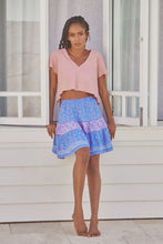 Cha Cha Mini Skirt Bellflower  JAASE