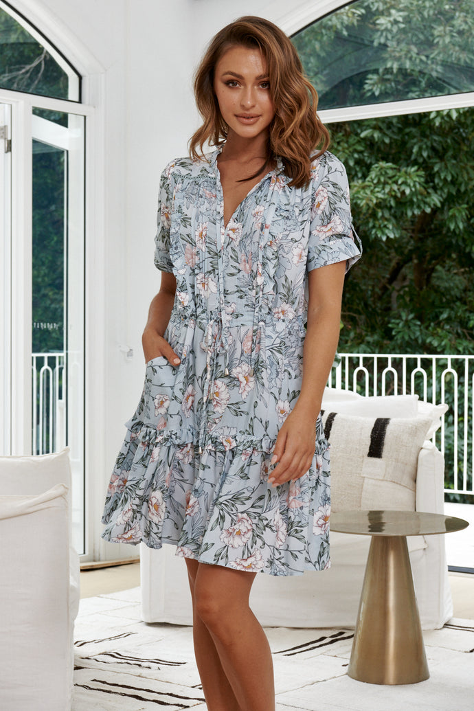 JAASE Remmy Mini Dress Gardenia