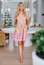 JAASE Remmy Mini Dress Honeycomb