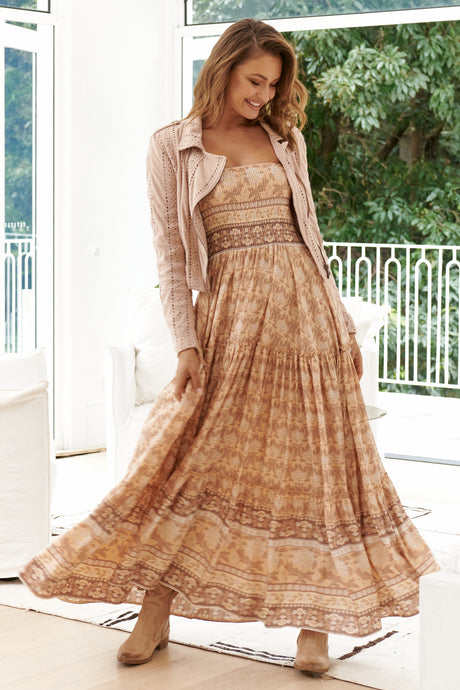 JAASE Salsa Maxi Dress Chai