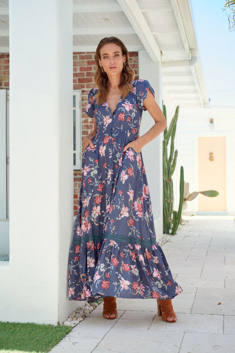 JAASE CARMEN MAXI DRESS ALLONIA