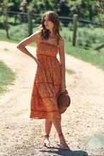 JAASE Heidi Midi Dress Saffron