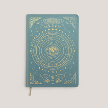 MAGIC OF I ~ Pocket  Vegan leather Journal Teal