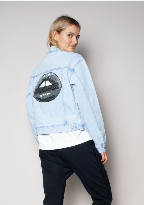 The Trucker Jacket ~ Blue Skies