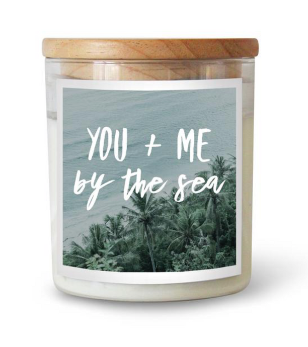 You & Me By The Sea Candle