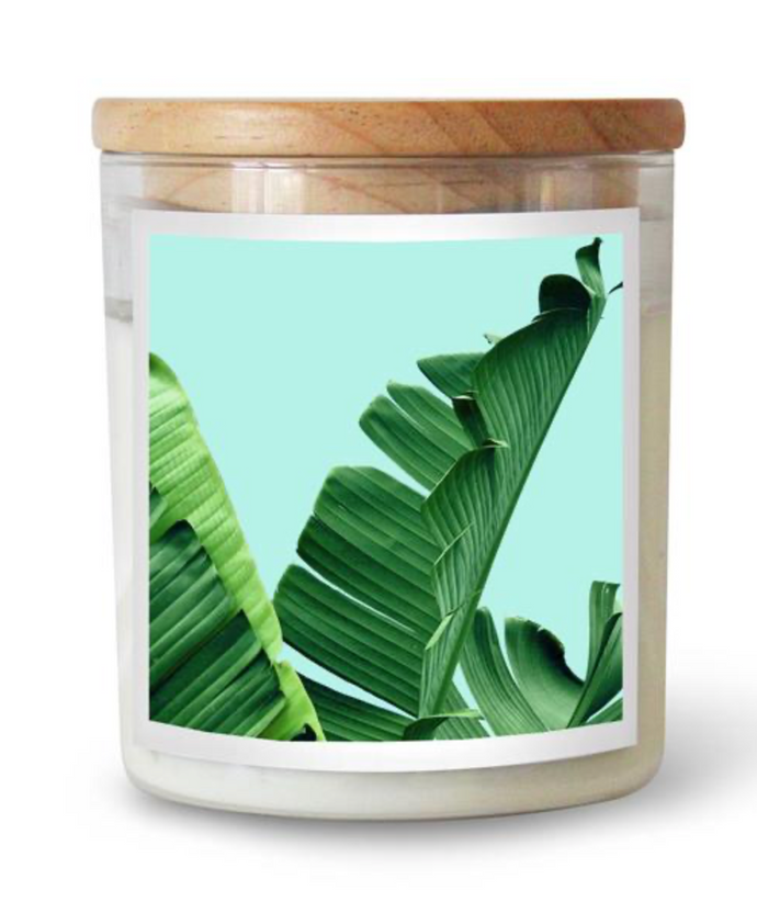 Banana Palms Candle