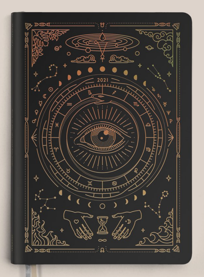MAGIC OF I 2021 Astrological Planner Black