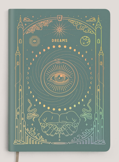 Magic of I Ether Dream Journal Teal