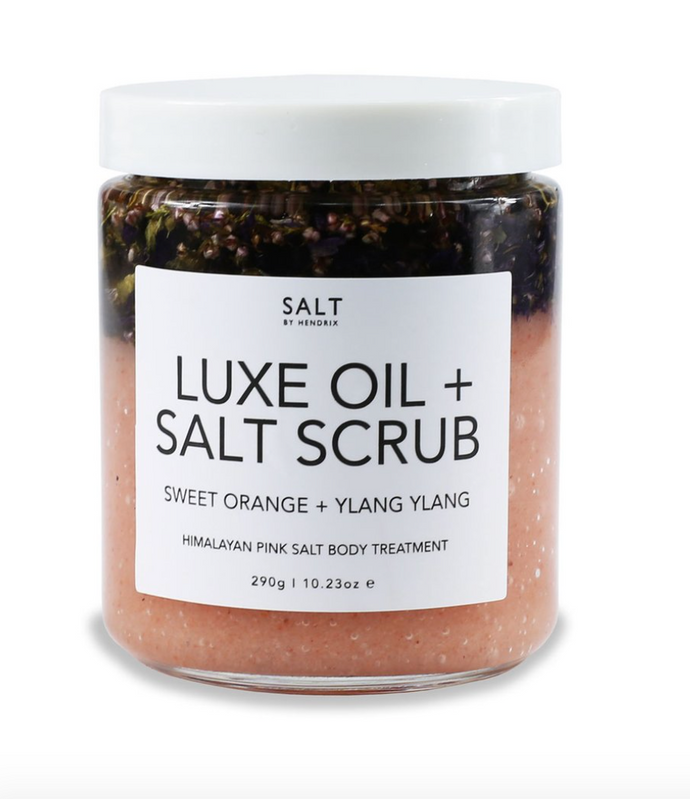 Luxe Oil + Scrub ~ Sweet Orange + Ylang Ylang