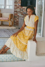 JAASE Octavia Maxi Dress Daffodil