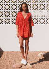 JAASE Tatum Playsuit Red Lantern